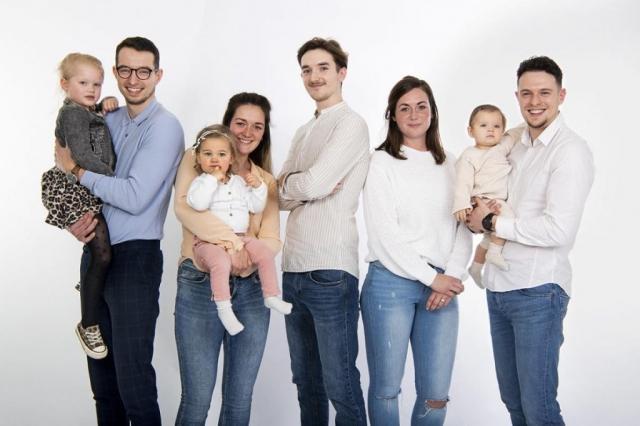 Fotograaf Groningen studio familie portret