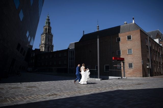 Bruidsfotograaf trouwfotograaf Groningen