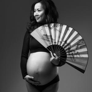 Zwangerschap fotoshoot zwanger Groningen fotograaf