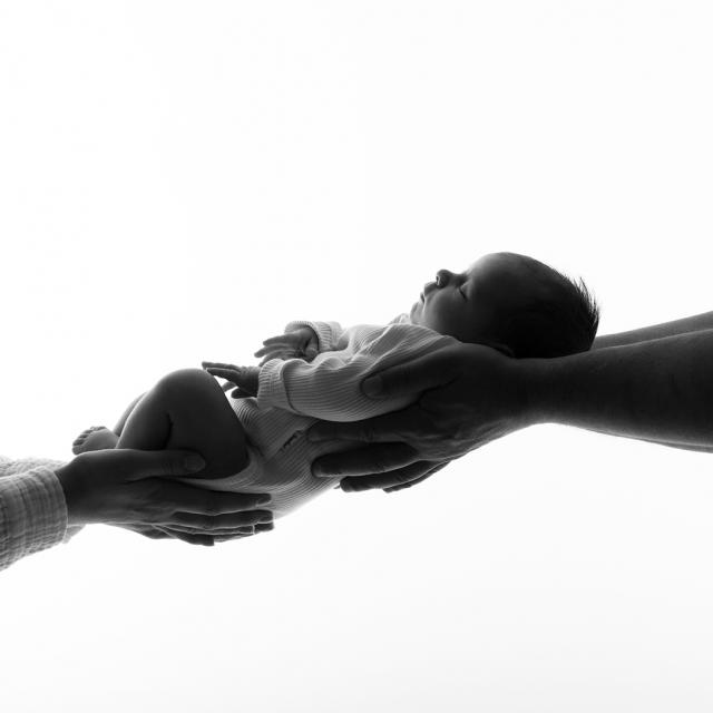 Newborn baby fotoshoot fotograaf Groningen