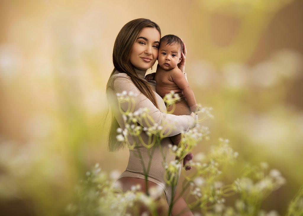 Fotograaf groningen zwangerschap newborn