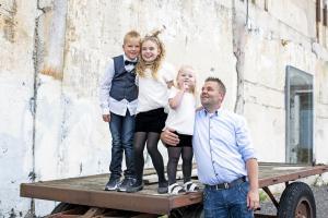 Fotoshoot familie Groningen buiten