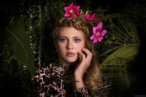 Glamour fotograaf groningen, tijdschrift portret